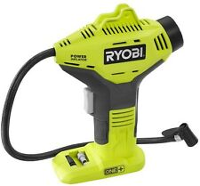 Ryobi 18 Volt ONE+ Electric Inflator Car Tire Pump Air Compressor (Tool-Only)