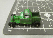 Tootsie Toy, roadster, green paint, rubber wheels, excellent & fun collectible