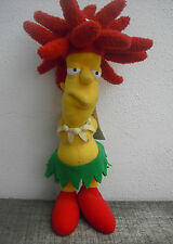 PELUCHE de Sideshow Bob,Patiño ,Actor secundario. Plush toy, 45 cm.The  Simpsons