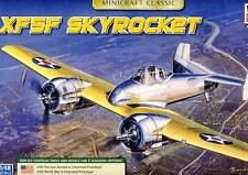 Minicraft - USN XF5F Skyrocket Pre - War & WWII Prototype model kit 1:48 NEW