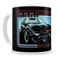 Official Retro Black Knight Rider K.I.T.T. Coffee Mug - Boxed Car Gifts New