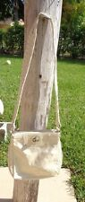 MARC by MARC JACOBS CREAM COLOR PATENT LEATHER CROSS BODY PURSE HANDBAG