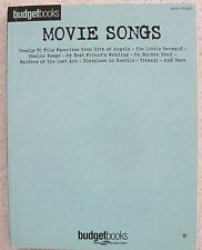 69 Movie Songs Variety Films Arranged Easy Piano w/Lyrics Unmarked
