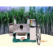 Top ZX Manual Sugarcane Juicer Sugar Cane Extractor Squeezer Stanless Steel