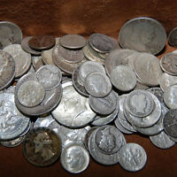 BEST MIX OF 90% SILVER - 1/2 OUNCE USA COINS LOT HALF DOLLARS QUARTERS DIMES