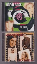 Ace of Base - Lot of 2 GD+ Used CD - The Sign / The Bridge - Dance Pop
