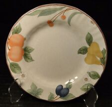"Mikasa Fruit Panorama Bread Plate 6 5/8"" DC014 EXCELLENT!"