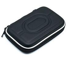 """Schwarze 2.5"""" HDD Tasche Hartschale für tragbare Festplatte Case Doppelverschlus"""