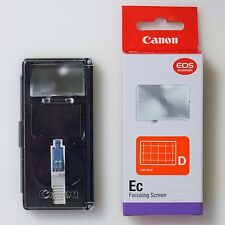 "CANON ""Grid Focusing Screen Ec-D"" For EOS 1Ds / II / III Genuine From Japan NEW"