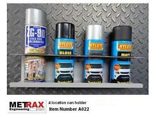 4 Aerosol Can holder storage - Truck Van Racking Trafic T5 Transit Vivaro