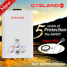 GASLAND Eco LPG Portable Gas Hot Water Heater Instant Outdoor Camping Shower 4WD