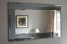 Marietta Wall Mirror John Lewis RRP£225 Grey/Smoked Glass 101x75cm !!CLEARANCE!!