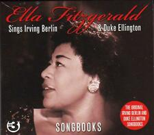ELLA FITZGERALD SINGS IRVING BERLIN & DUKE ELLINGTON - SONGBOOKS (NEW 3CD)