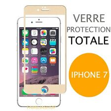 iPhone 7 VERRE TREMPE OR Film de protection Intégral Total écran 4.7
