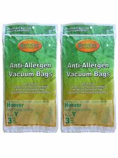 Hoover Windtunnel Type Y Hepa Vacuum Bags 6pk with Closure & Microfiltration