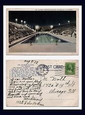 LOS ANGELES OLYMPICS 1932 SWIMMING POOL POSTED BY JEAN STASAND TO CHICAGO