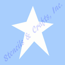 "4"" PRIMITIVE STAR STENCIL CELESTIAL STARS TEMPLATE TEMPLATES CRAFT PAINT #1 NEW"