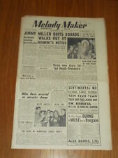 MELODY MAKER 1950 #893 SEPT 30 JAZZ SWING JIMMY MILLER JACK NATHAN TED HEATH