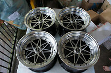 "JDM Equip 03 15"" roadster miata mx5 crx pcd100 wheels civic eg6 work 01"