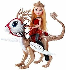 Ever after high Dragon Games Apple White Dragonrider Doll Daughter of Snow White