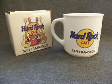 Hard Rock Cafe San Francisco Guitar Mug - In Original Box