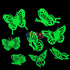 Glow Dark Luminous Fluorescent Stickers Wall Art Home Paste Ceiling Decal EBAU