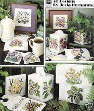 USA State Flowers In Plastic Canvas Cross Stitch Chart