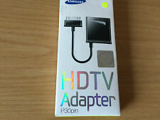 Genuine SAMSUNG HDTV Adaptador P30 Pin GALAXY TAB 7.0 Plus, 7.7, 8.9 y 10.1
