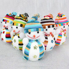 Christmas Snowman Cute Ornaments Festival Party Xmas Tree Hanging Decoration TR