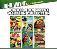 6 JOHN WAYNE OESTE CLÁSICOS COLECCIÓN Ranchero Fede Ray Corrigan DVD Edición
