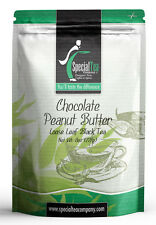 8 oz. Chocolate Peanut Butter Loose Leaf Black Tea Includes Free Tea Infuser