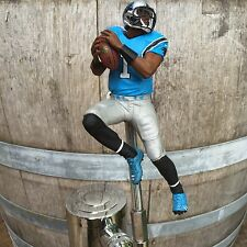Carolina PANTHERS Tap Handle Beer Keg Kegerator Football NFL CAM NEWTON