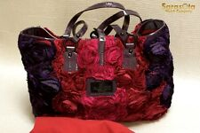 NEW AUTHENTIC VALENTINO GARAVANI FLOWER BAG A34000415 RED/PINK/PURPLE COLOR