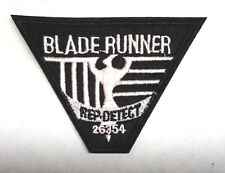 "Blade Runner Movie Rep Detect  4"" Embroidered Uniform Patch-FREE S&H (BRPA-01)"