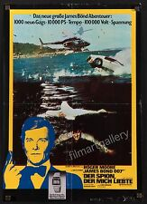THE SPY WHO LOVED ME 1977 Rare James Bond 007 poster Lotus Esprit filmartgallery