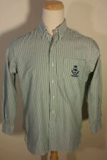 VTG CLASSIC FIT 1967 STRIPES NEW YORK ATHLETIC CLUB RALPH LAUREN POLO M