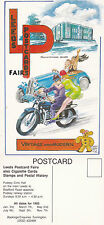 1993 LEEDS PUDSEY CIVIC CENTRE POSTCARD CLUB FAIR ADVERTISING POSTCARD UNUSED