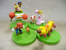 Set de 4 mini figurines Super Mario - gashapons Yujin