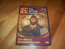 THE BIBLE'S GREATEST SECRETS Ancient Archaeology Sights History Channel DVD NEW