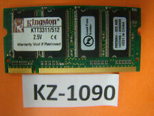 Kingston DDR pc-2700 333mhz memoria RAM 512mb #kz-1090