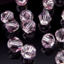 HOT ! 4mm,6mm,8mm Glass Crystal #Bicone Spacer Beads