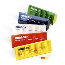Anabox Daily Pill Box/Organiser