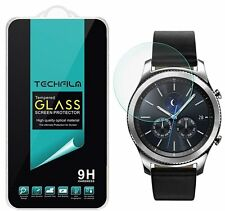 TechFilm® Tempered Glass Screen Protector Saver For Samsung Gear S3 Frontier
