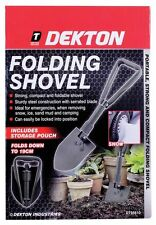 DEKTON Compact Folding Shovel Emegency Portable Army Spade