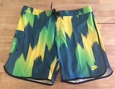 New Mens Nike Brasil Soccer Football Shorts 38 Awesome Looking - FREE SHIPPING