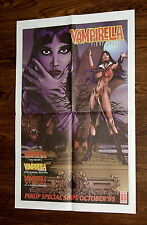 VAMPIRELLA PIN-UP SPECIAL Promotional Poster -Harris 1995 -Michael Bair Art -NEW