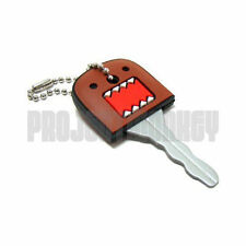 Domo Key Cover Cap Key Chain Keychain Domokun NHK TV Mascot Officially Licensed