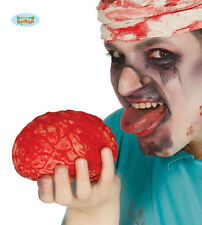 Halloween Gory BRAIN Zombie Horror Rubber Fake Bloody Doctor Surgeon PROP