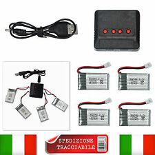 3.7v 700mah x4 Batterie potenziate Drone Syma x5 X5c x31 V931 Upgrade Batteries!