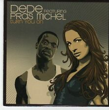(EB509) Dede ft Pras Michel, Turn You On - 2007 CD